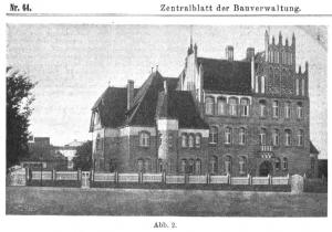 Realschule Chełmno 1910