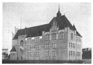Schulgebäude Ul. Kościuszki 11 in Chełmno im Jahr 1910