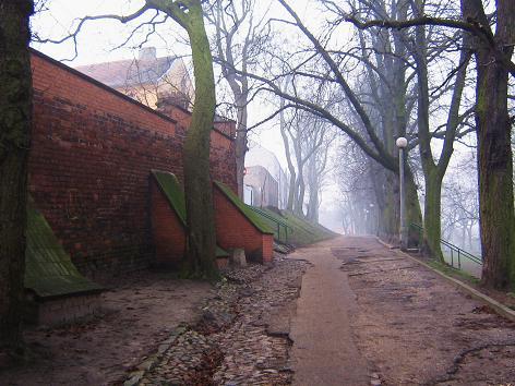 Alte Promenade in Chełmno