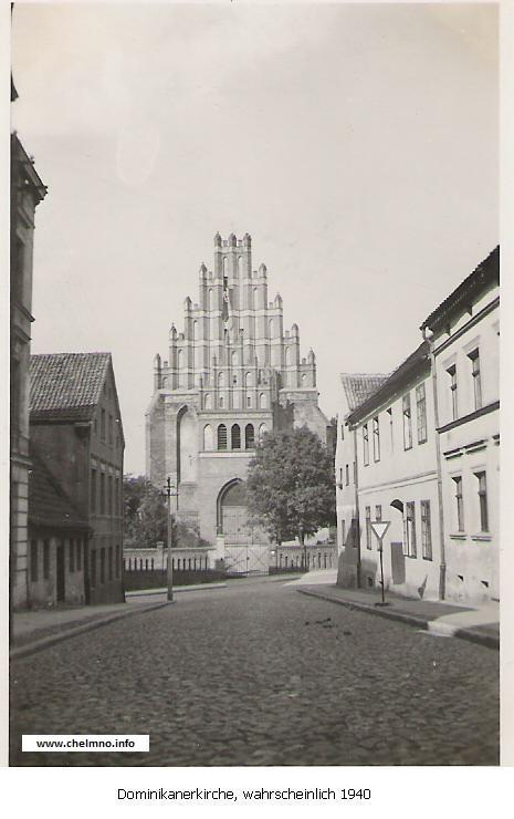 Dominikanerkirche 1940