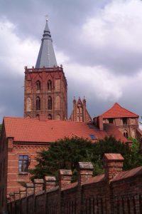 Türme der Marienkirche in Chełmno