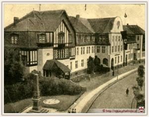 Kriegerdenkmal von 1889 ab 1940 am Landratsamt in Culm - Chelmno
