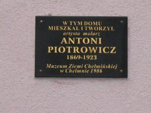 Gedenktafel Antoni Piotrowicz