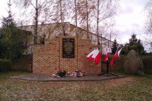 Unabhängigkeitsdenkmal in Chełmno 11.11.2017