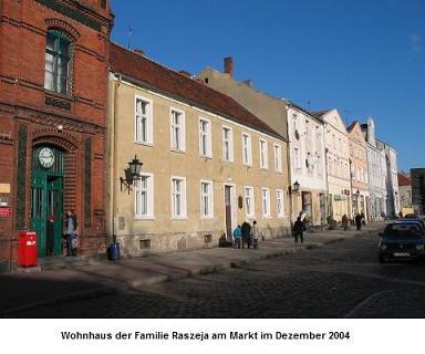 Elternhaus Raszeja am Markt in Chełmno