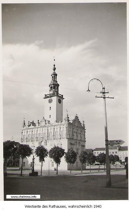 Rathaus in Chełmno 1940