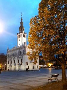 Rathaus im Herbst 2018
