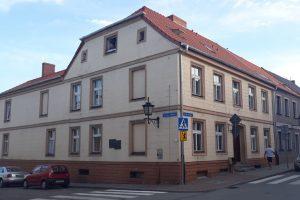 Geburtshaus Kurt Schumachers an der Heiligegeiststraße (ul. Swietego Ducha) in Chełmno nad Wisłą im August 2019