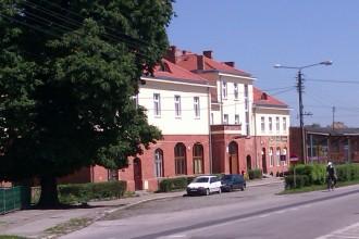 Bahnhofsgebäude in Chełmno 2012