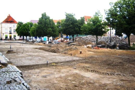 Bauarbeiten 15. Juli 2012