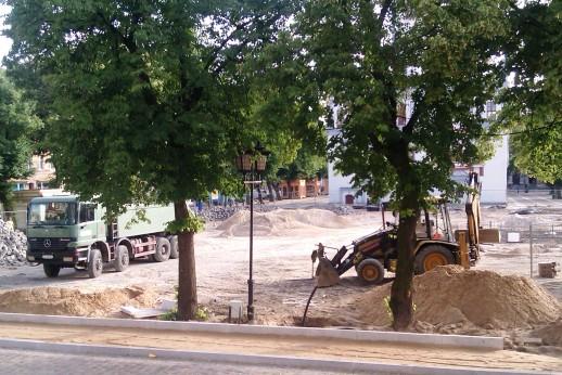 Bauarbeiten Sommer 2012