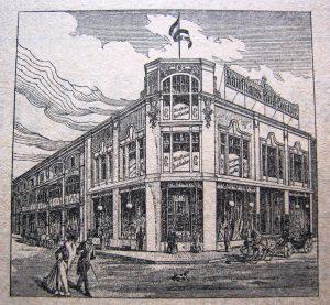 Kaufhaus Conitzer in Schwetz an der Weichsel (Świecie nad Wisłą)
