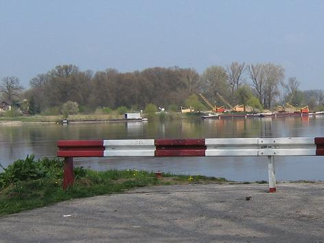 Flusshafen in Chełmno 2008