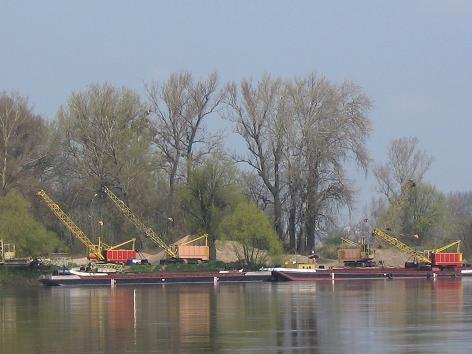 Flusshafen an der Weichsel in Chełmno 2008