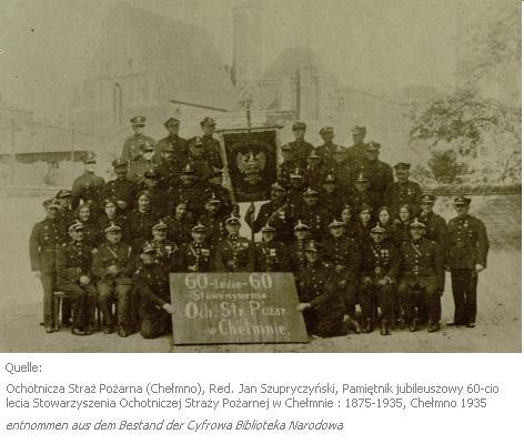 Freiwillige Feuerwehr in Chełmno 1935