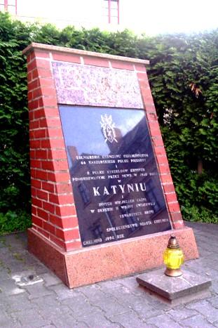 Katyn-Denkmal in Chełmno