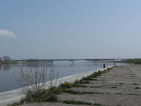 Alte Schiffsanlagestelle in Chełmno