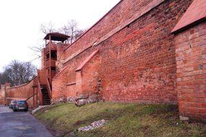 Stadtmauer Ulica Podmurna in Chełmno