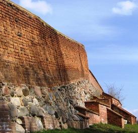 Stadtmauer in Chełmno