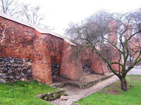 Stadtmauer am Thorner Tor in Chełmno
