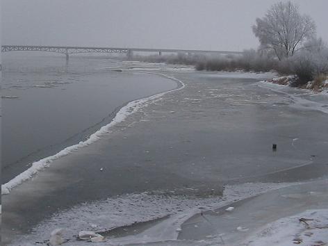 Weichsel bei Chełmno am 15. Januar 2006