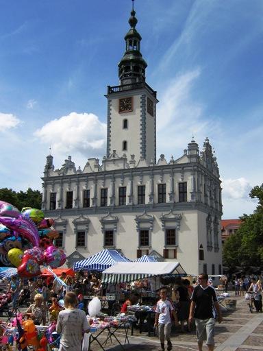 Rathaus in Chełmno am 1. Juli 2006